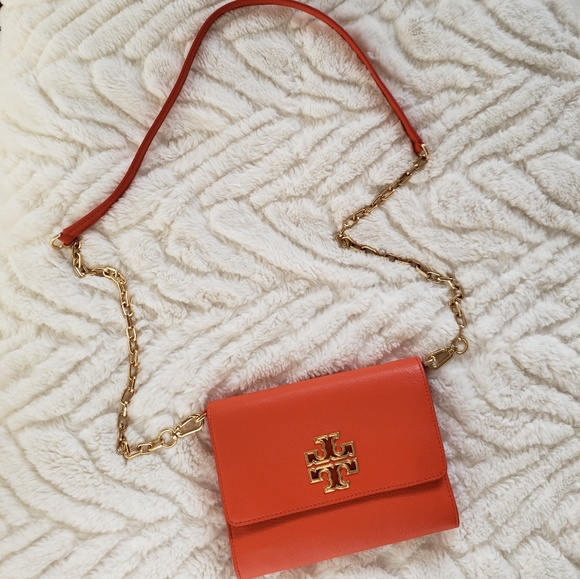 Tory Burch Handbags - Tory Burch Orange Crossbody
